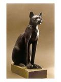 Egyptian Bronze Statuette Print