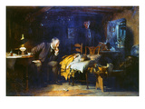 Fildes: The Doctor, 1891 Prints by Sir Luke Fildes
