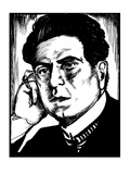 Pietro Mascagni (1863-1945) Giclee Print by Samuel Nisenson
