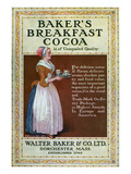 Ads: Cocoa, c1900 Prints