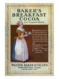 Ads: Cocoa, c1900 Giclee Print