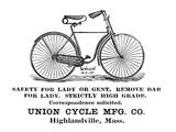 Bicycle Advertisement, 1890 Prints
