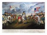 Yorktown: Surrender, 1781 Art by  Currier & Ives