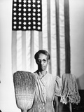 American Gothic, 1942 Giclee Print by Gordon Parks