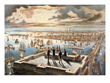 New York Harbor, c1882 Giclee Print by  Currier & Ives