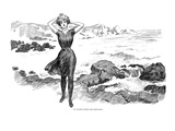 Gibson: Bather, 1902 Prints by Charles Dana Gibson