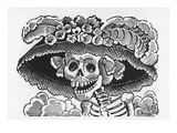 Posada: Fashionable Lady Giclee Print by Jose Guadalupe Posada
