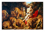 Rubens: Daniel and Lions Den Prints by Peter Paul Rubens