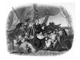 Christopher Columbus Giclee Print by Christian Ruben