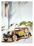 Cadillac Ad, 1929 Giclee Print