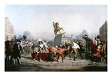 King George III Statue, 1776 Giclee Print by William Walcutt
