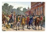 John Nixon, 1776 Posters