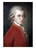 Wolfgang Amadeus Mozart Posters by Barbara Krafft