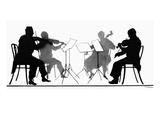String Quartet, c1935 Giclee Print by Hilda Wiener