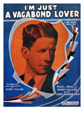 Song Sheet: Vagabond, 1929 Giclee Print by Rudy Vallee