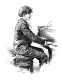 Ignace Jan Paderewski Giclee Print