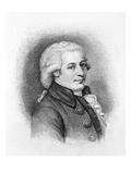 Wolfgang Amadeus Mozart Giclee Print by Samuel Hollyer