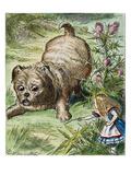 Carroll: Alice, 1865 Stampa giclée di Tenniel, John
