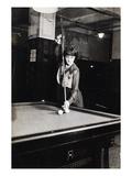 Billiard Champion, 1917 Art