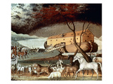 Hicks: Noah's Ark, 1846 Giclee Print by Edward Hicks