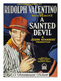 Valentino, R: Poster, 1924 Prints