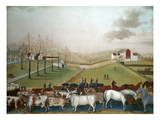 Hicks: Cornell Farm, 1848 Giclee Print by Edward Hicks