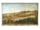 Farmer Plowing Giclee Print by Ludwig Gottfried von Redeken