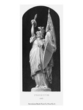 Allegory: Columbia, 1870 Giclee Print