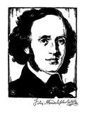 Felix Mendelssohn Posters by Samuel Nisenson