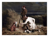 Ranney: Duck Shooting Giclee Print by William Tylee Ranney