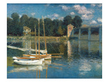 Monet: Argenteuil Giclee Print by Claude Monet