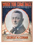 George M Cohan (1878-1942) Giclee Print