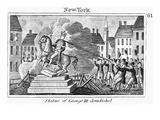 George III Statue, 1776 Art