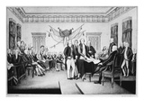 Declaration of Independence Giclee Print by Nathaniel Currier