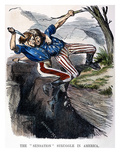Cartoon: Civil War, 1862 Giclee Print