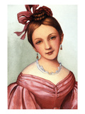 Clara Schumann (1819-1896) Giclee Print