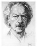 Ignace Jan Paderewski Giclee Print by Louis Lupus