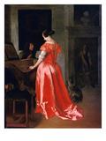 Ochtervelt: Harpsichord Giclee Print by Jacob Ochtervelt