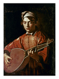 Caravaggio: Luteplayer Poster by  Caravaggio