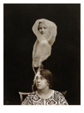 Spirit Photograph, 1921 Giclee Print by Staveley Bulford