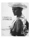 Ursula Andress (b1936) Reproduction giclée Premium