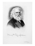 Henry Wadsworth Longfellow Giclee Print by Samuel Hollyer