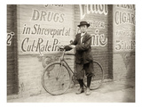 Delivery Boy, 1913 Posters by Lewis Wickes Hine