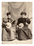 Banjo Players, c1900 Poster