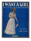 Sheet Music Cover, 1911 Giclee Print