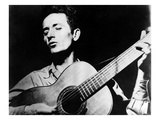 Woody Guthrie (1912-1967) Giclee Print