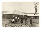 Nebraska: Settlers, c1885 Giclee Print by Solomon D. Butcher