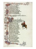Chaucer: Canterbury Tales Print