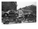 Ohio: Auto Transport, 1940 Prints by Arthur Rothstein