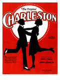 Charleston Songsheet Cover Giclee Print